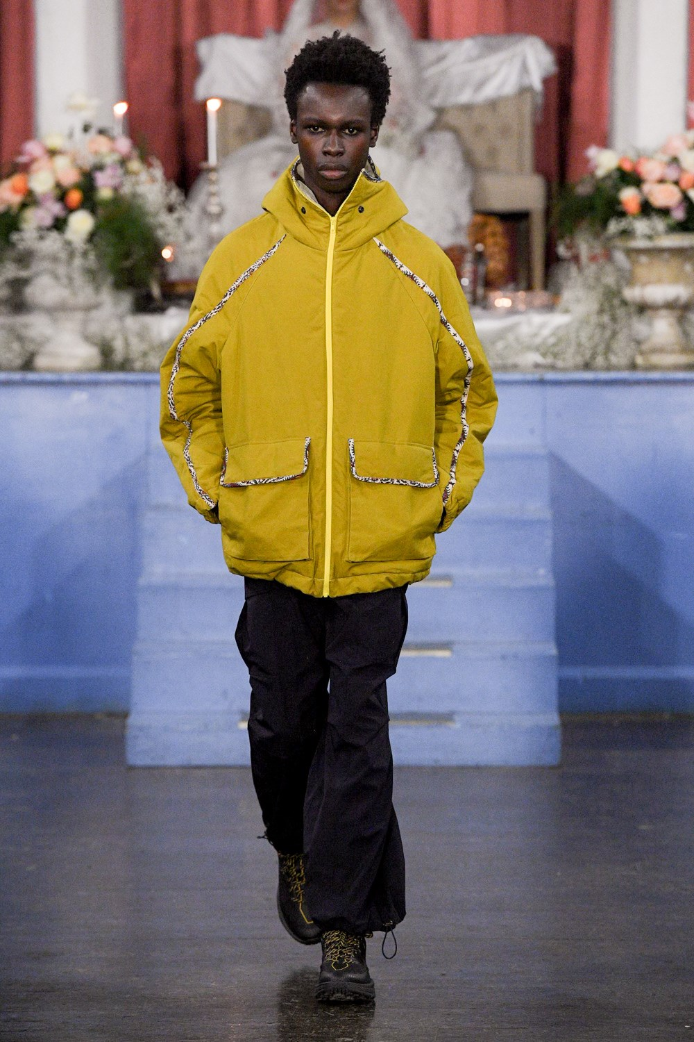 Paria Farzaneh - Automne-Hiver 2020-2021 - London Fashion Week Men's