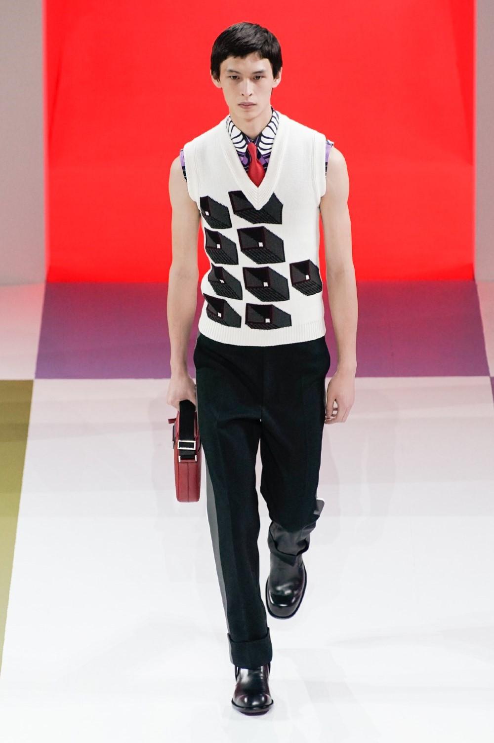 Prada - Automne-Hiver 2020-2021 - Milan Fashion Week