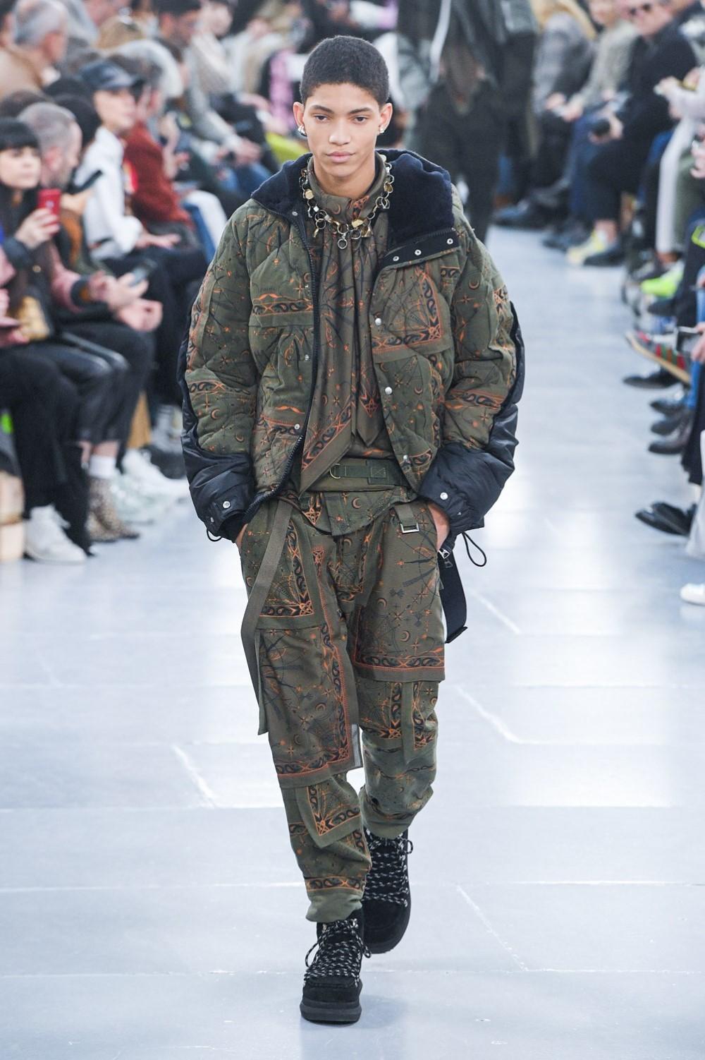 Sacai - Automne-Hiver 2020-2021 - Paris Fashion Week