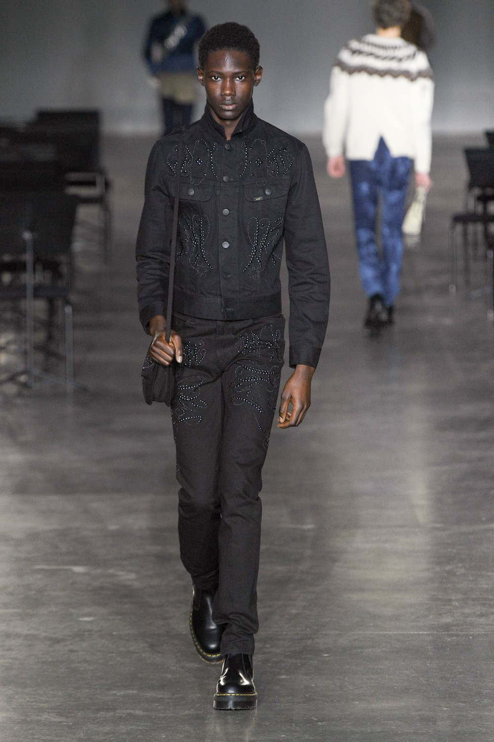 Stefan Cooke - Automne-Hiver 2020-2021 - London Fashion Week Men's