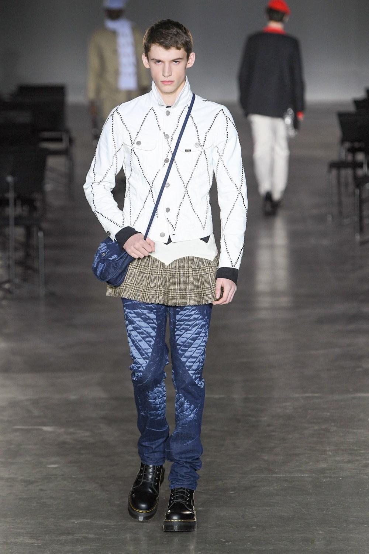 Stefan Cooke - Automne-Hiver 2020-2021 - London Fashion Week Men's