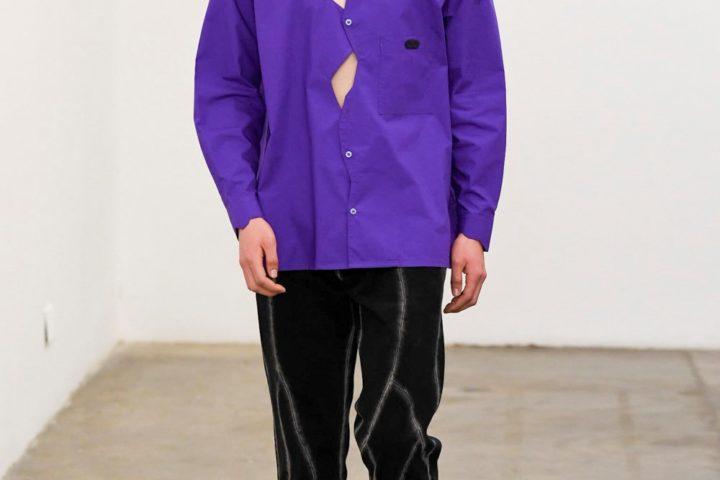 Xander Zhou - Automne-Hiver 2020-2021 - London Fashion Week Men's