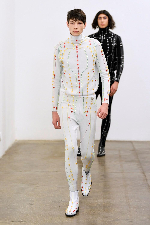 Xander Zhou Automne Hiver 2020 2021 London Fashion Week Mens 16