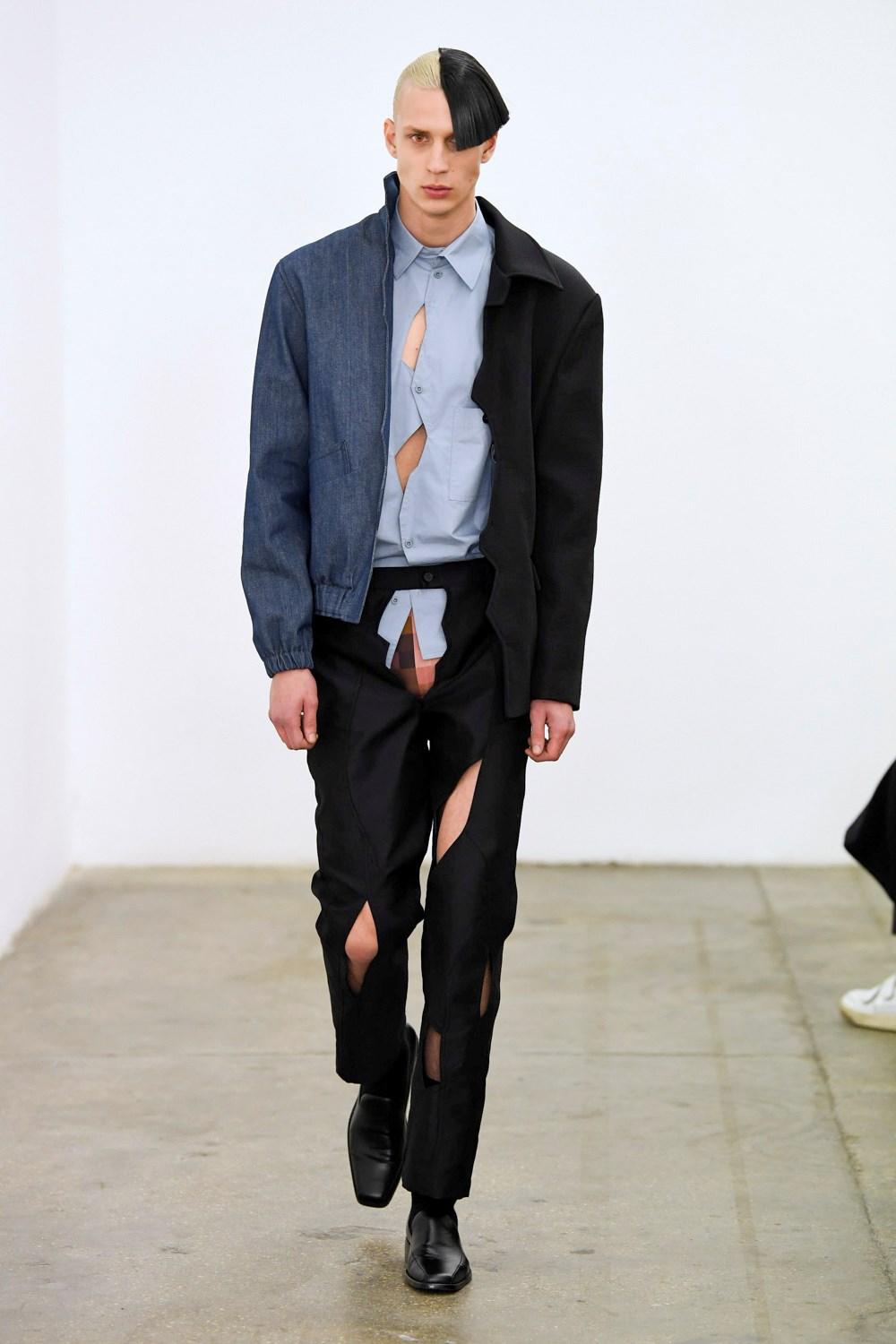 Xander Zhou - Automne-Hiver 2020-2021 - London Fashion Week Men's