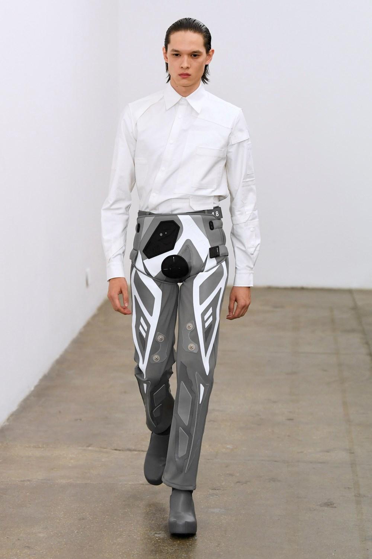 Xander Zhou Automne Hiver 2020 2021 London Fashion Week Mens 38