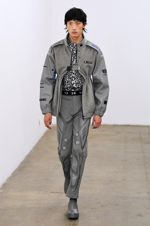 Xander Zhou Automne Hiver 2020 2021 London Fashion Week Mens 40