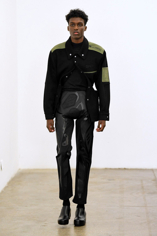 Xander Zhou Automne Hiver 2020 2021 London Fashion Week Mens 41