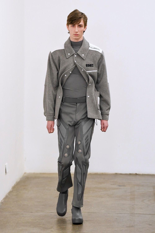 Xander Zhou Automne Hiver 2020 2021 London Fashion Week Mens 42