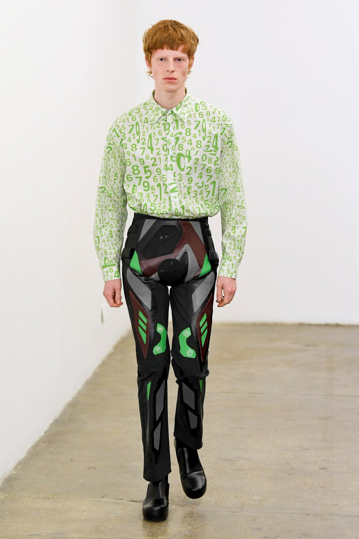 Xander Zhou Automne Hiver 2020 2021 London Fashion Week Mens 43