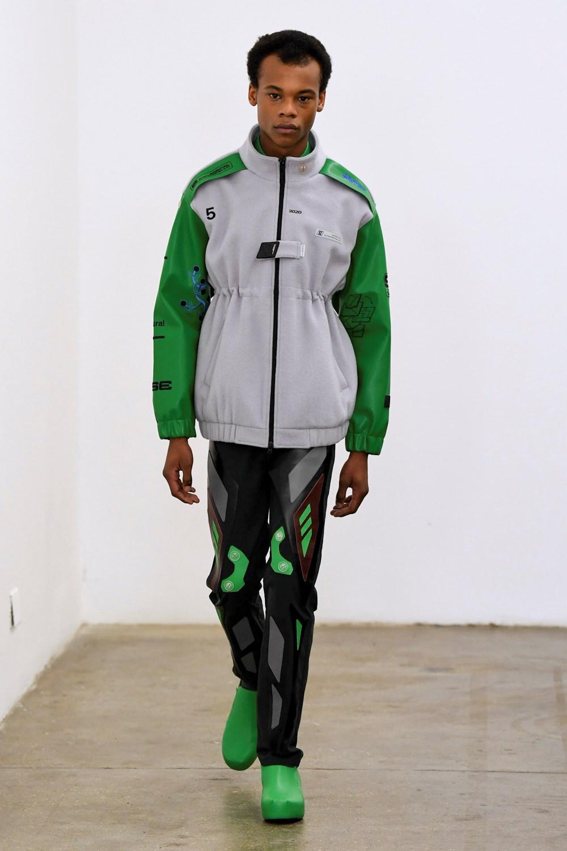 Xander Zhou Automne Hiver 2020 2021 London Fashion Week Mens 44