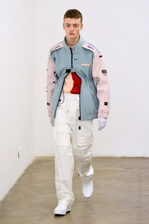 Xander Zhou Automne Hiver 2020 2021 London Fashion Week Mens 46