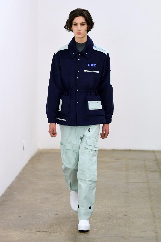 Xander Zhou Automne Hiver 2020 2021 London Fashion Week Mens 47