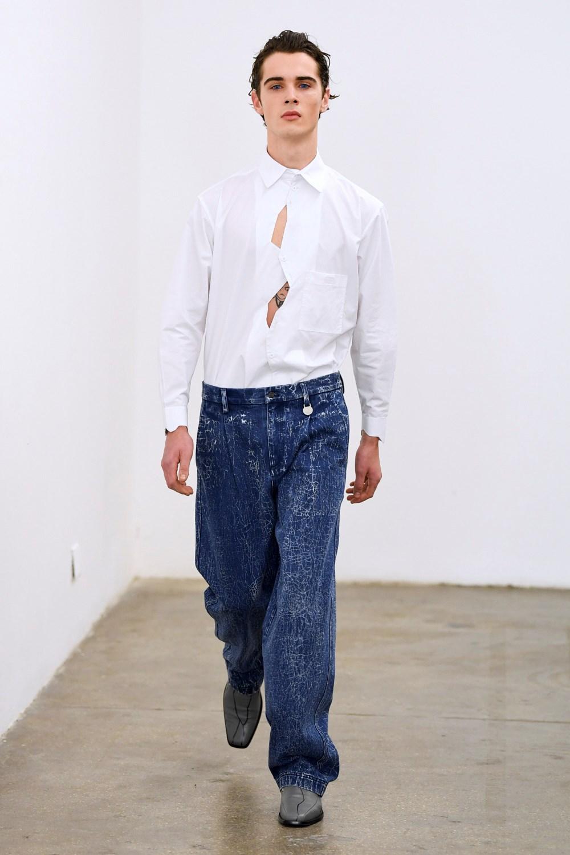 Xander Zhou Automne Hiver 2020 2021 London Fashion Week Mens 48