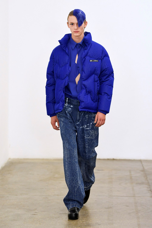 Xander Zhou Automne Hiver 2020 2021 London Fashion Week Mens 49
