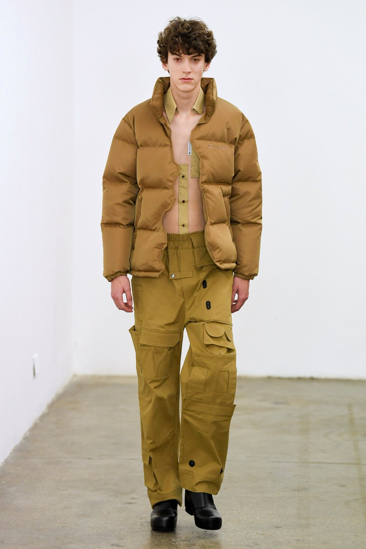 Xander Zhou Automne Hiver 2020 2021 London Fashion Week Mens 50