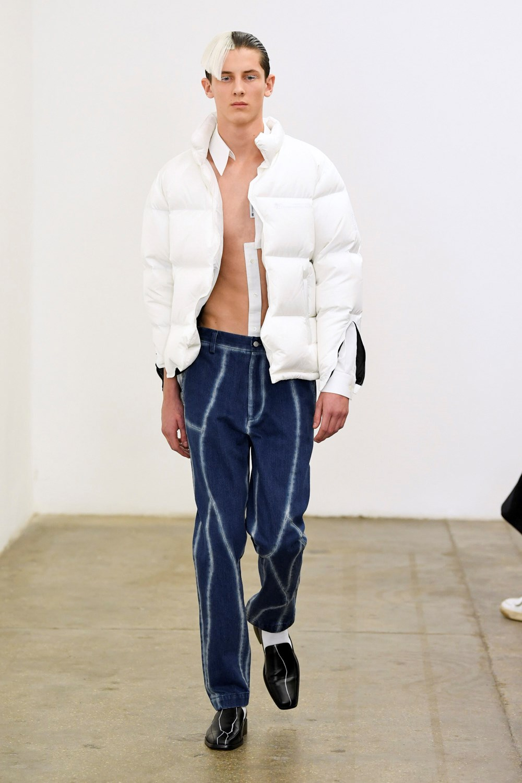 Xander Zhou Automne Hiver 2020 2021 London Fashion Week Mens 51