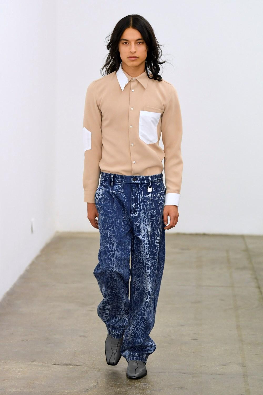 Xander Zhou Automne Hiver 2020 2021 London Fashion Week Mens 52