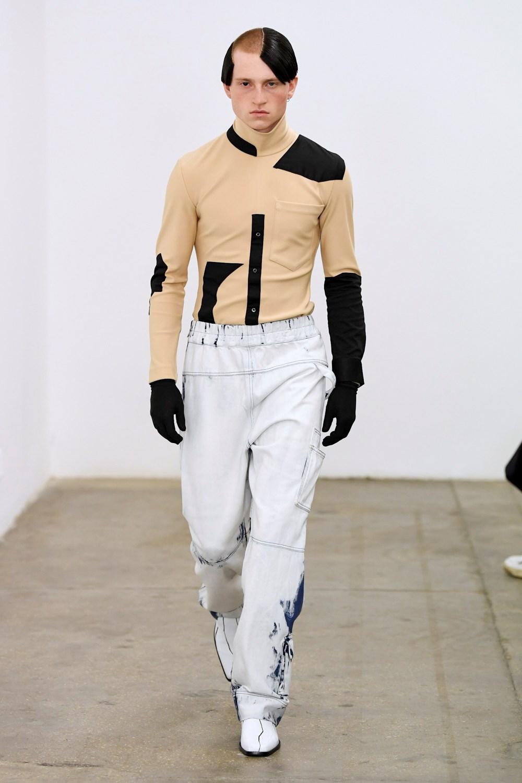 Xander Zhou Automne Hiver 2020 2021 London Fashion Week Mens 53
