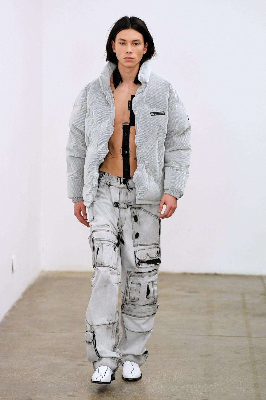 Xander Zhou Automne Hiver 2020 2021 London Fashion Week Mens 54