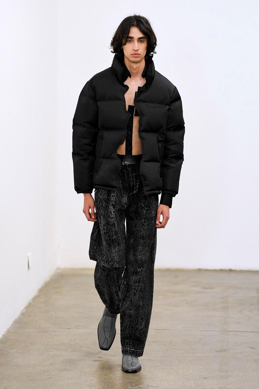Xander Zhou Automne Hiver 2020 2021 London Fashion Week Mens 57