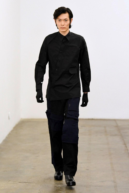 Xander Zhou Automne Hiver 2020 2021 London Fashion Week Mens 9