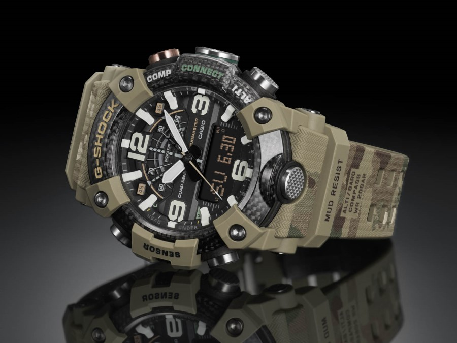 G-SHOCK MUDMASTER x British Army