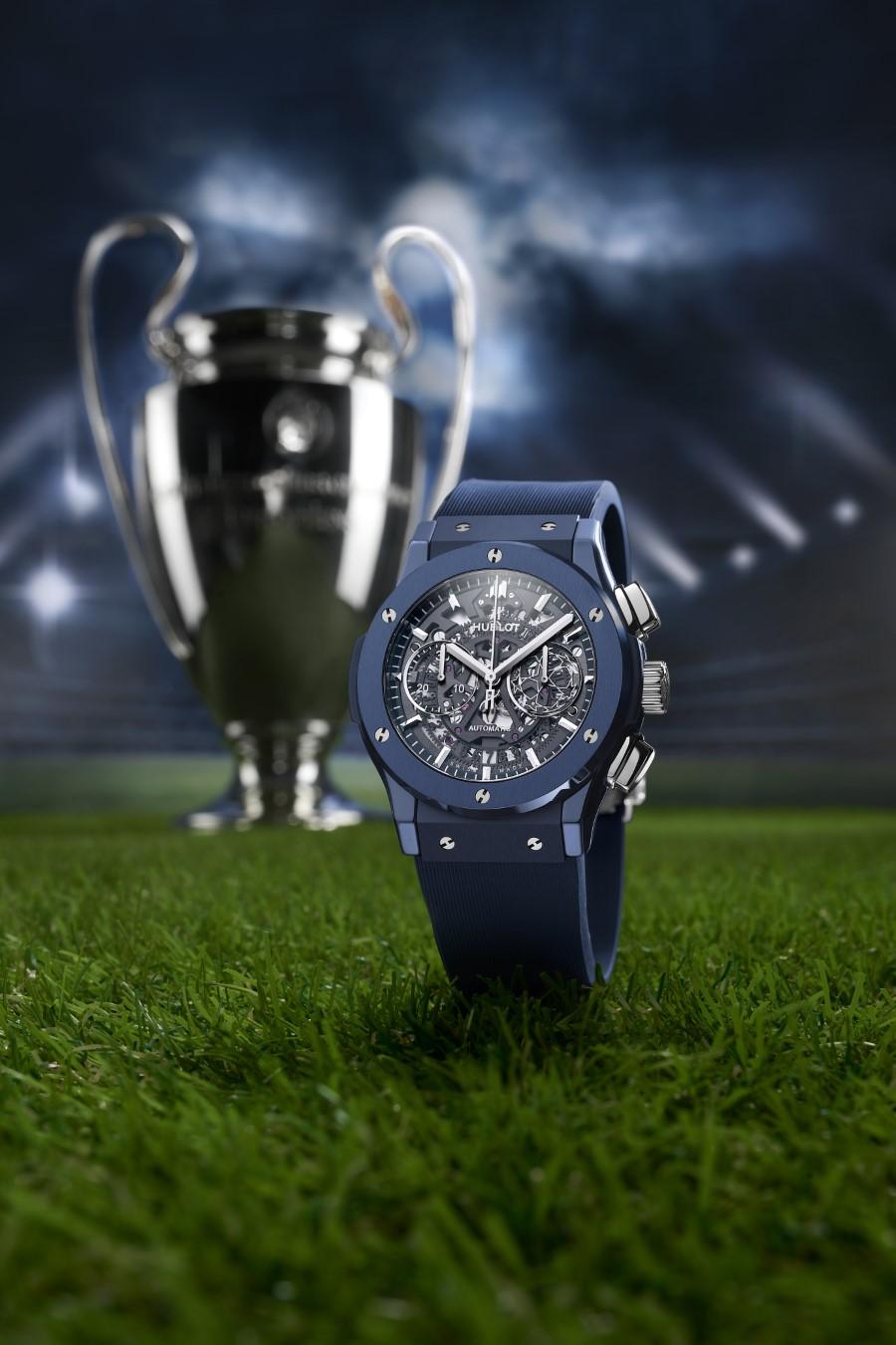 Hublot Classic Fusion Aerofusion Chronographe UEFA Champions League