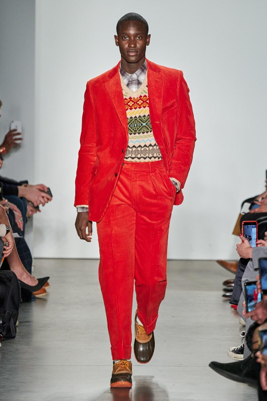 Todd Snyder - Automne-Hiver 2020 - New York Fashion Week Men's