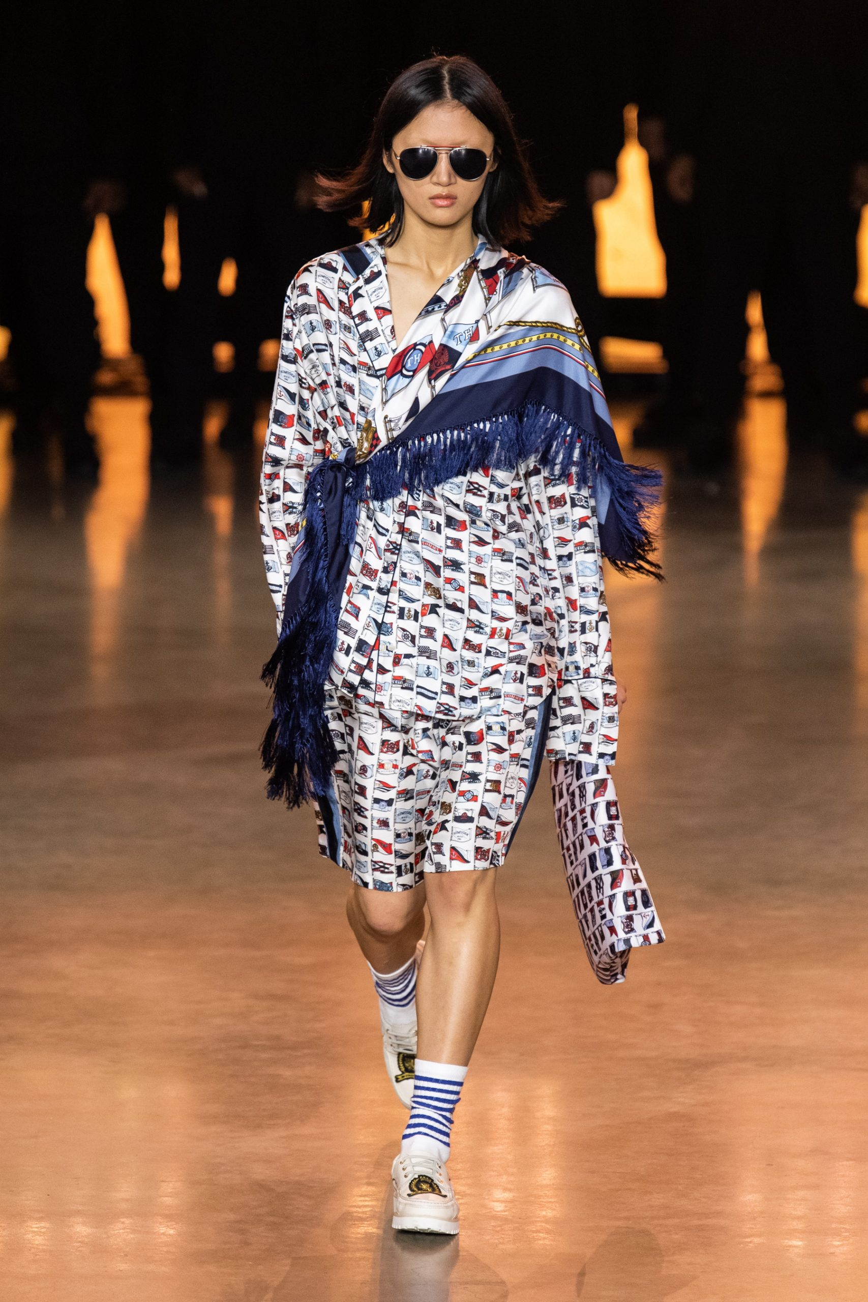 Tommy Hilfiger Lewis Hamilton Automne Hiver 2020 2021 London Fashion Week 20