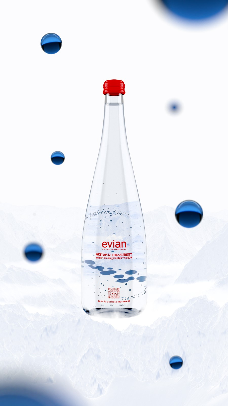 evian x Virgil Abloh - Activate Movement
