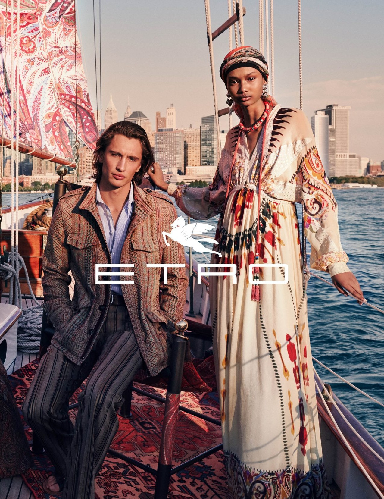 Etro Campagne Printemps-Été 2020 - James Turlington