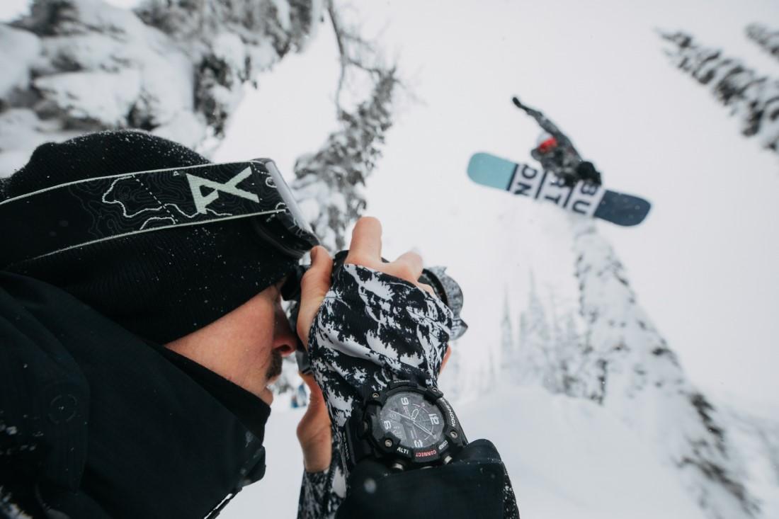 G-SHOCK MUDMASTER x Burton Snowboards