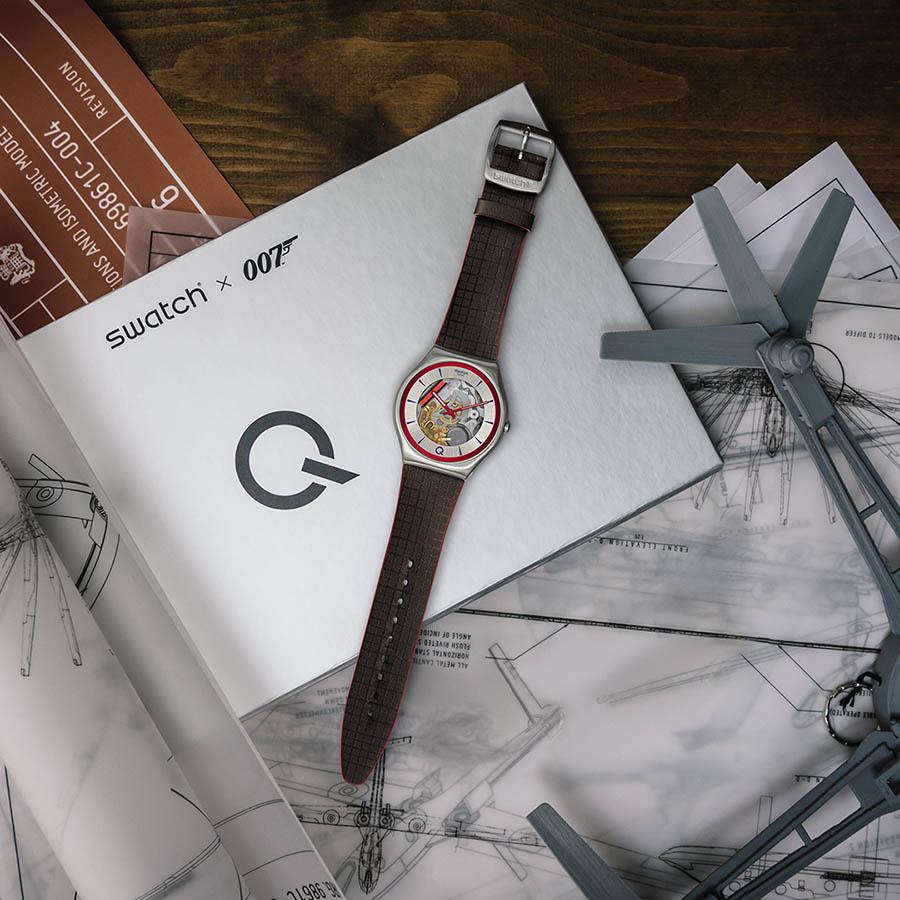 Swatch x 007 Collection James Bond Mourir peut attendre - Q