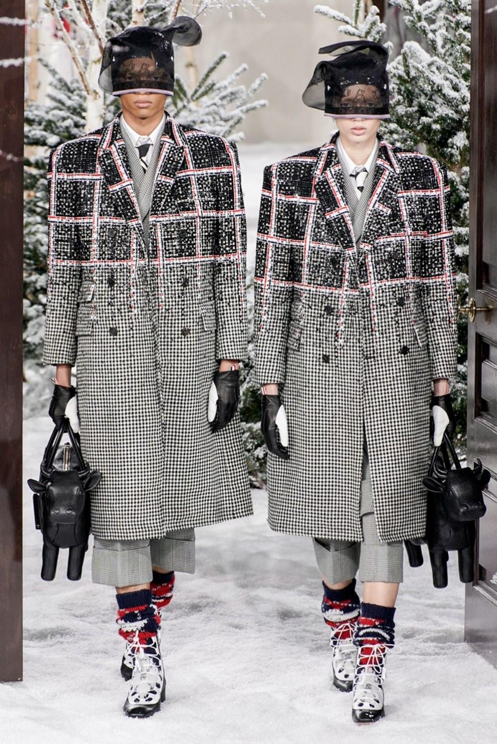 Thom Browne - Automne-Hiver 2020-2021 - Paris Fashion Week