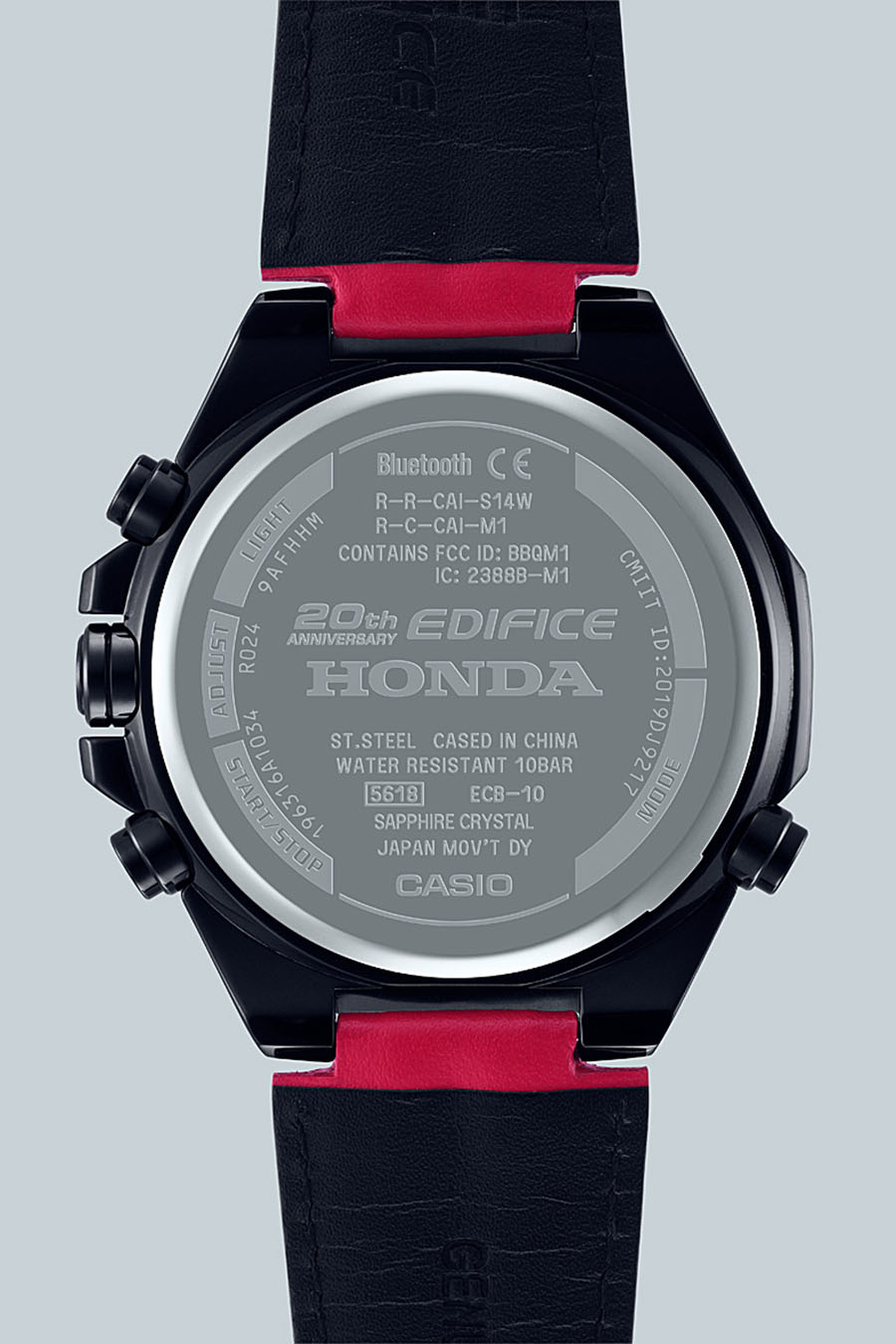 CASIO Edifice 20 ans x Honda Racing