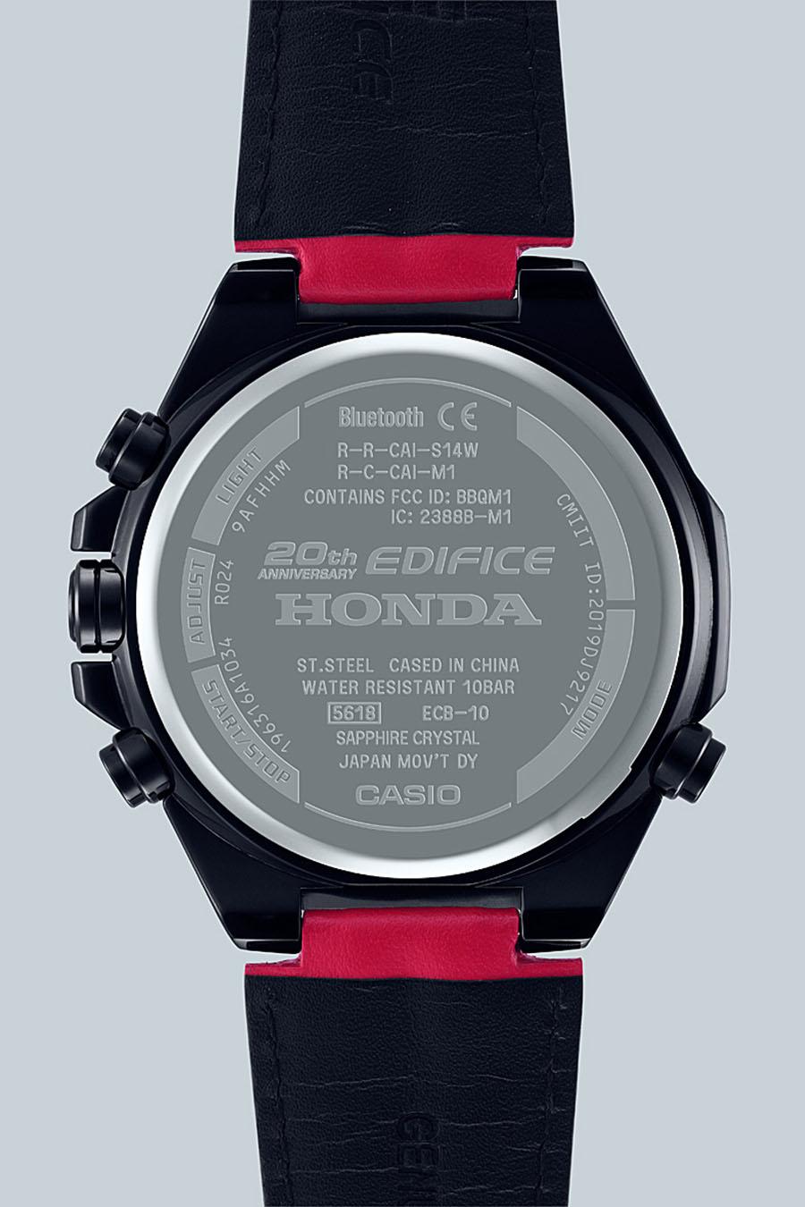 CASIO Edifice 20 ans x Honda Racing