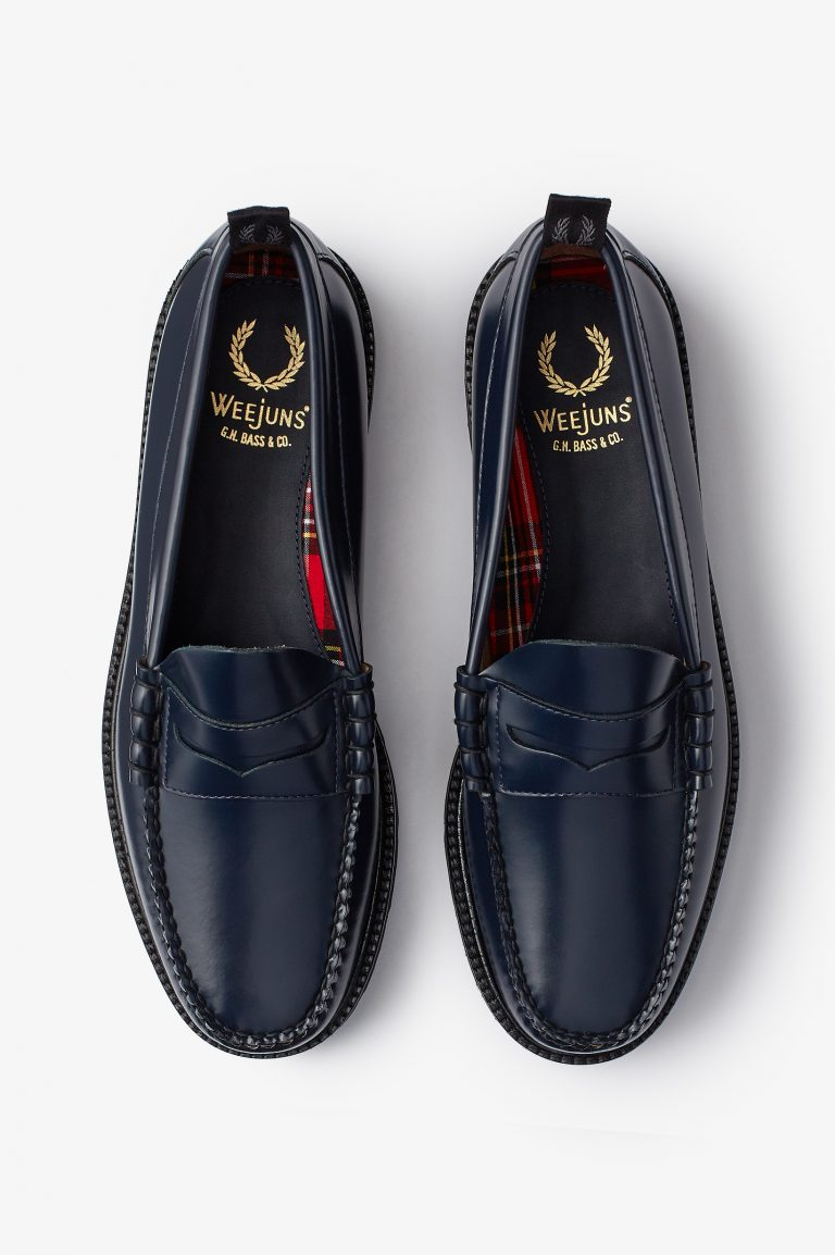 Fred Perry x G.H. Bass & Co.