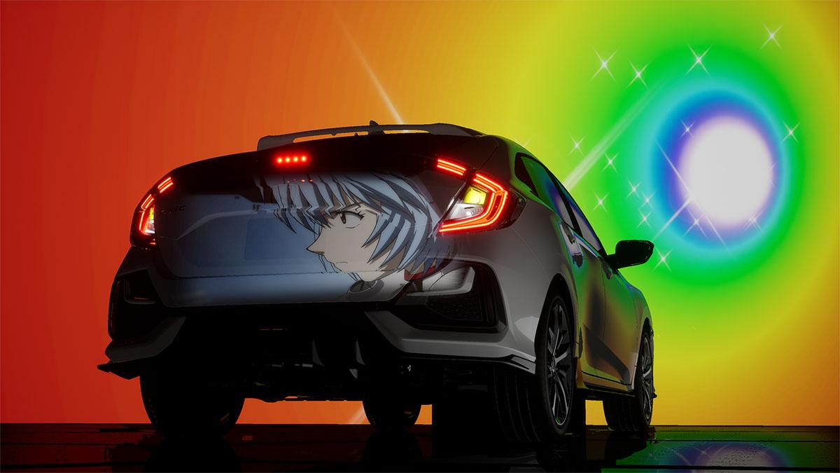 Honda Civic x Evangelion