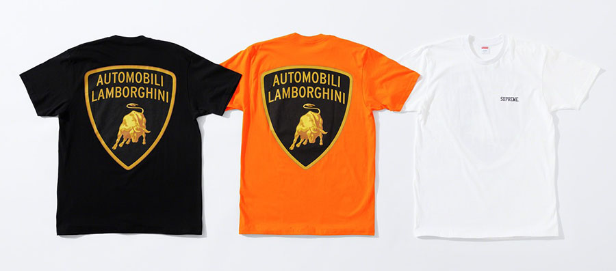 Lamborghini x Supreme Printemps 2020