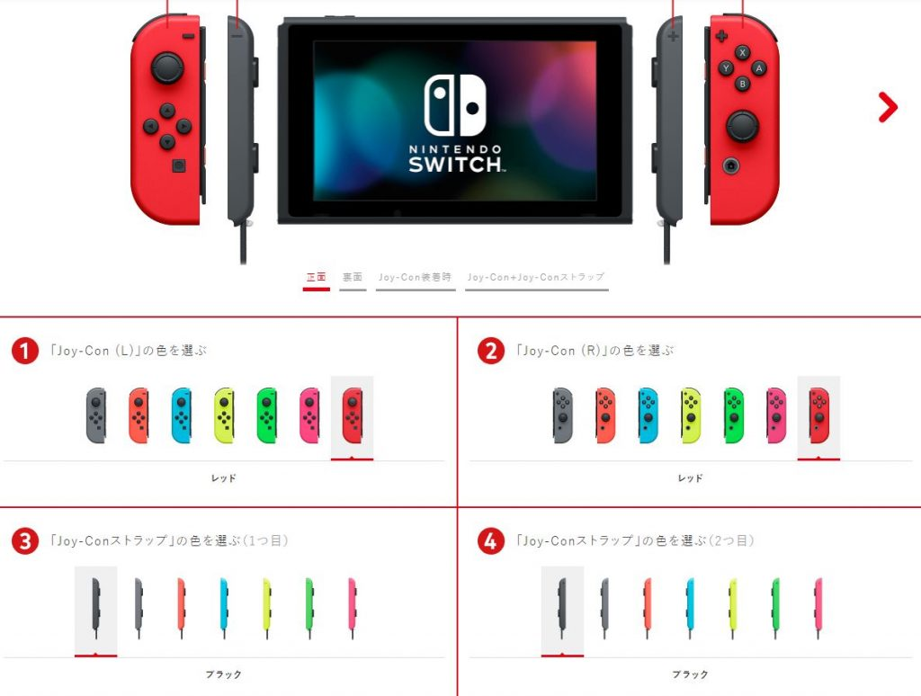 Nintendo Switch Personnalisation