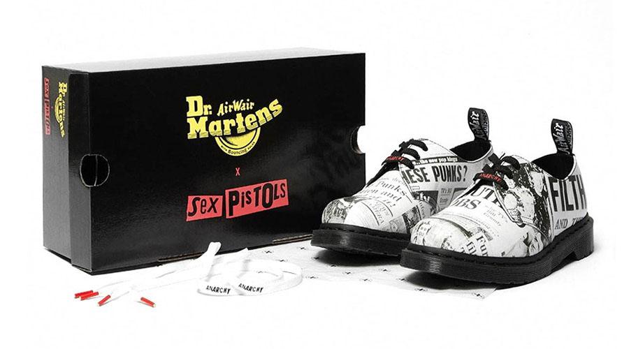 Sex Pistols x Dr Martens