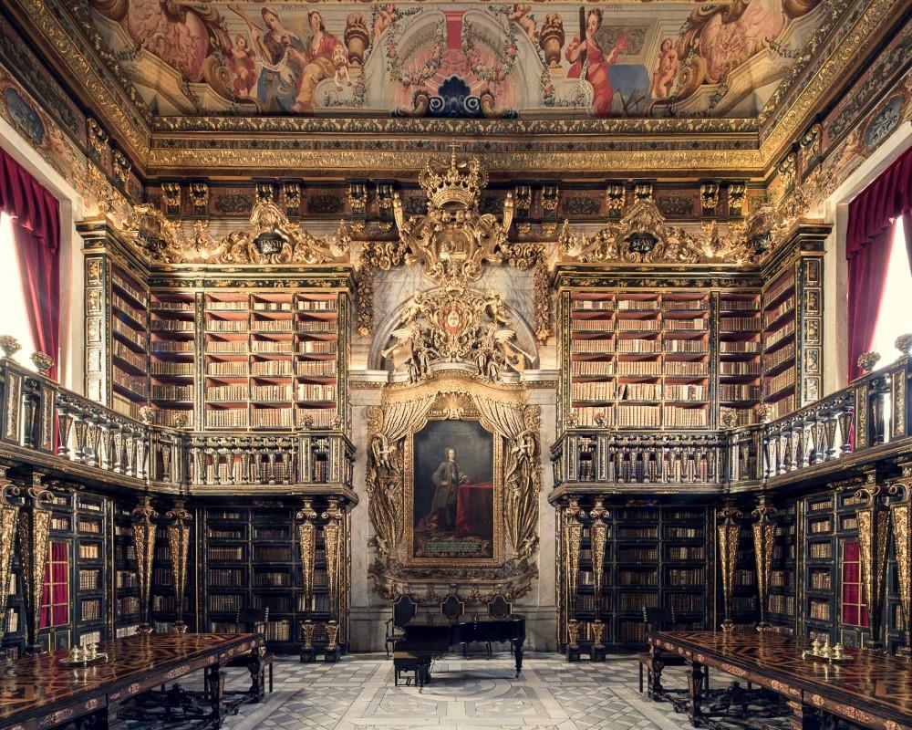Bibliothèque Joanina - Coimbra