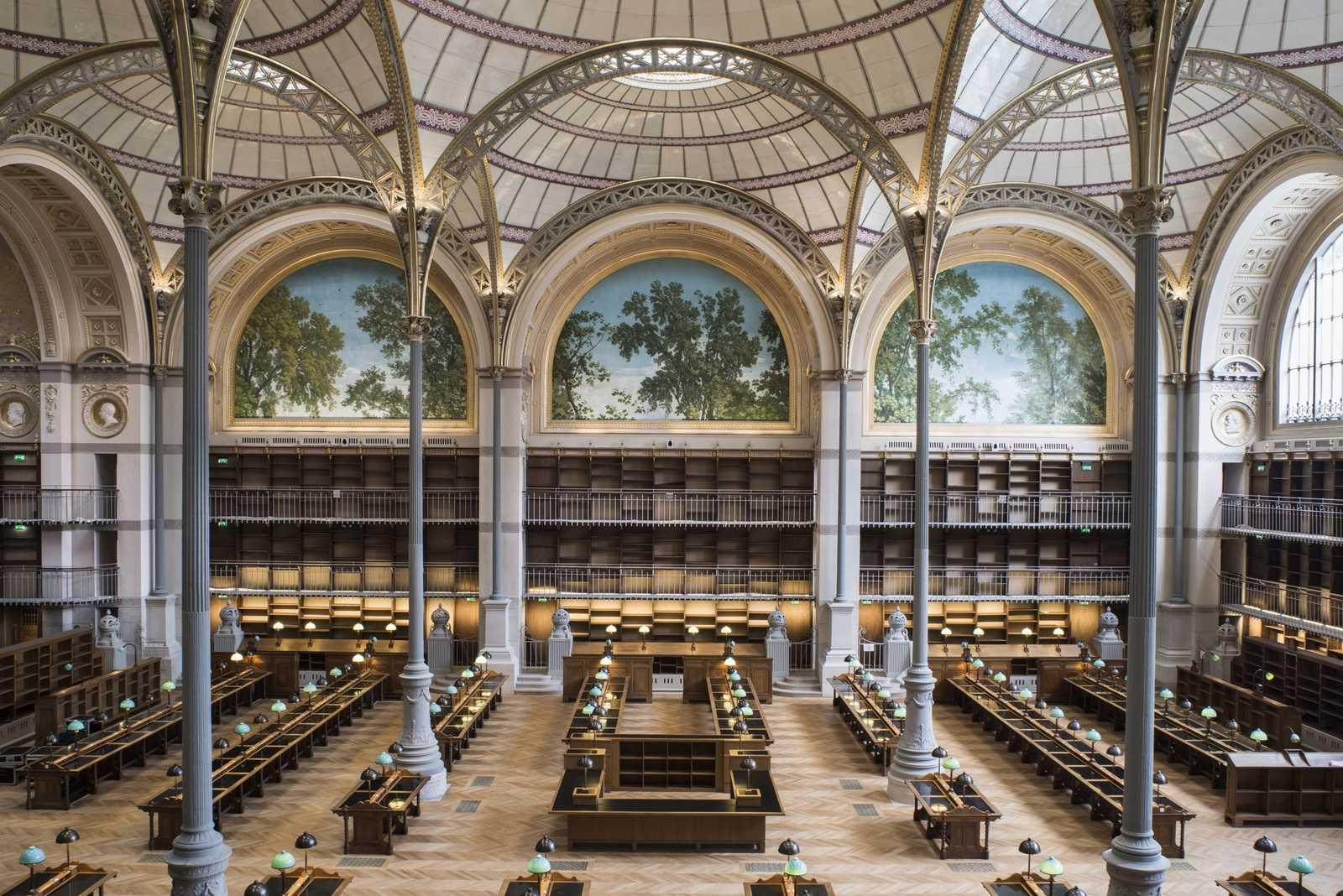 Bibliothèque Nationale de France Salle richelieu