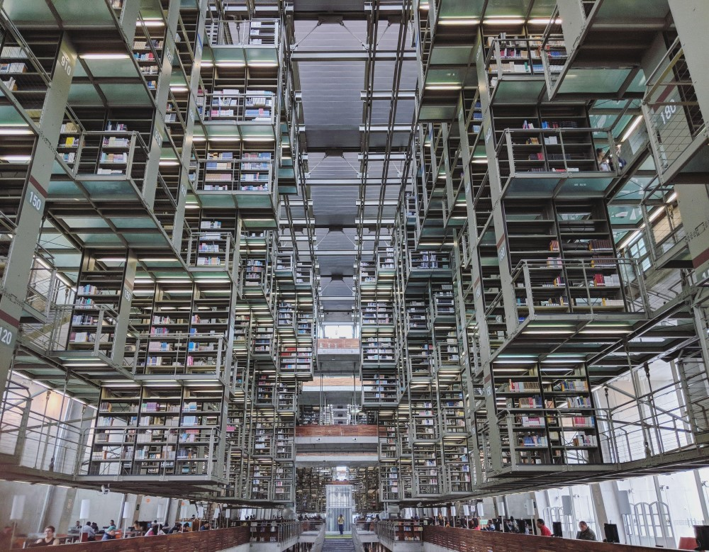 Bibliothèque Vasconcelos - Mexico