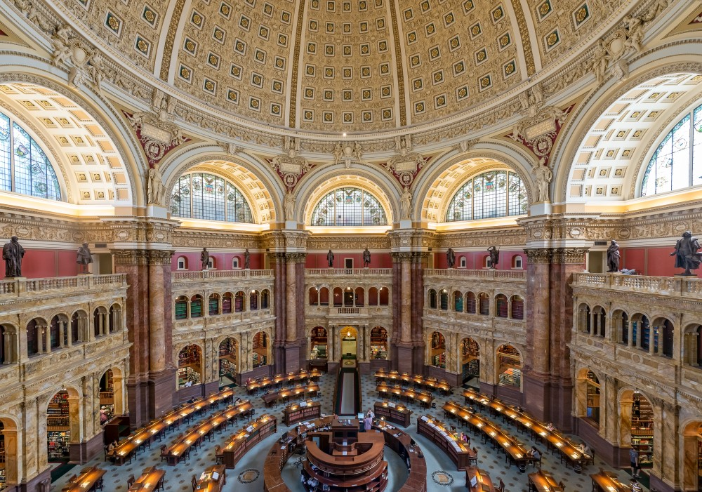 Bibliothèque du Congrès des Etats-Unis - Washington