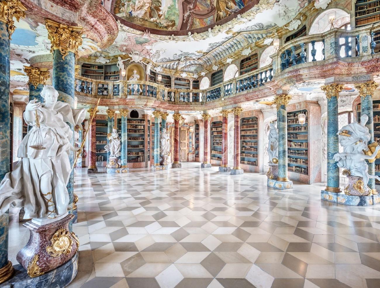 Bibliothèque du Monastère Wiblingen - Ulm