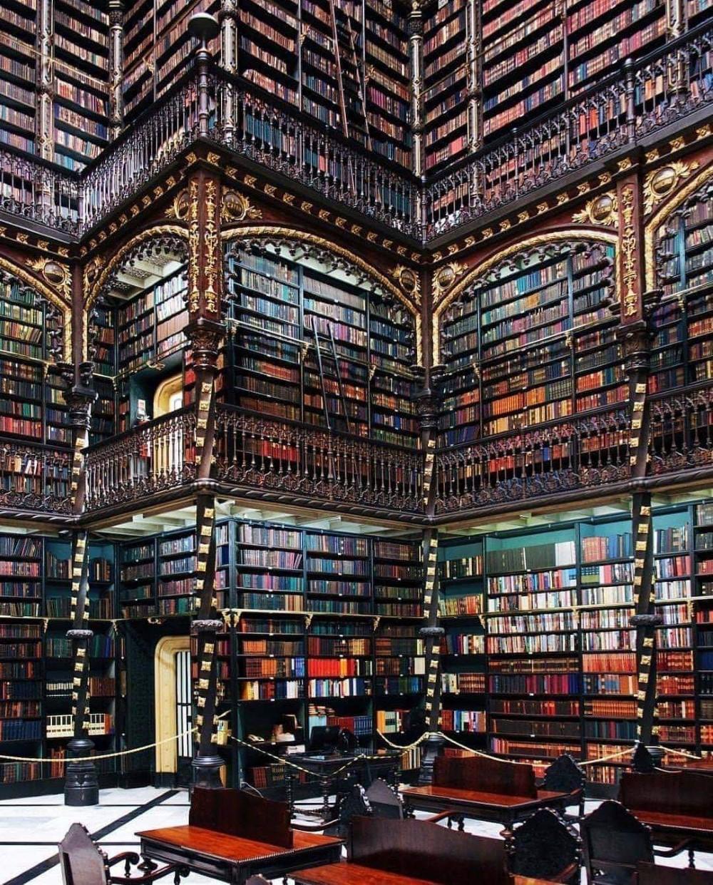 Bibliothèque nationale de Rio de Janeiro - Brésil
