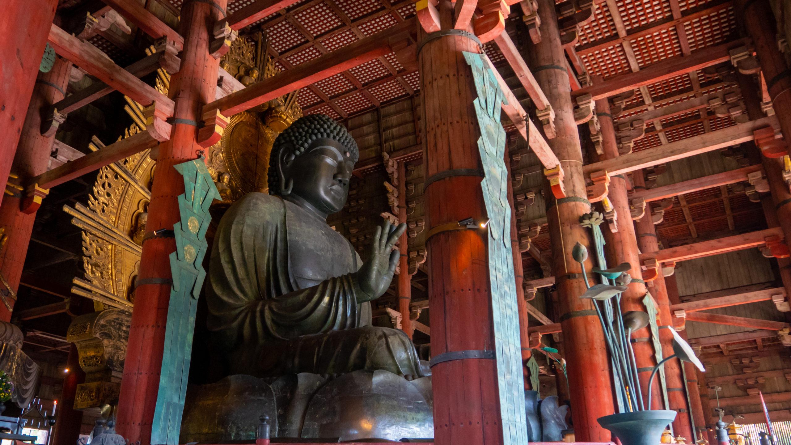 Dix Chefs-d'œuvre colossales - BOUDDHA DE NARA - TODAI-JI JAPON