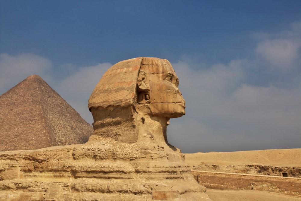 Dix Chefs-d'œuvre colossales - SPHINX DE GIZEH Égypte