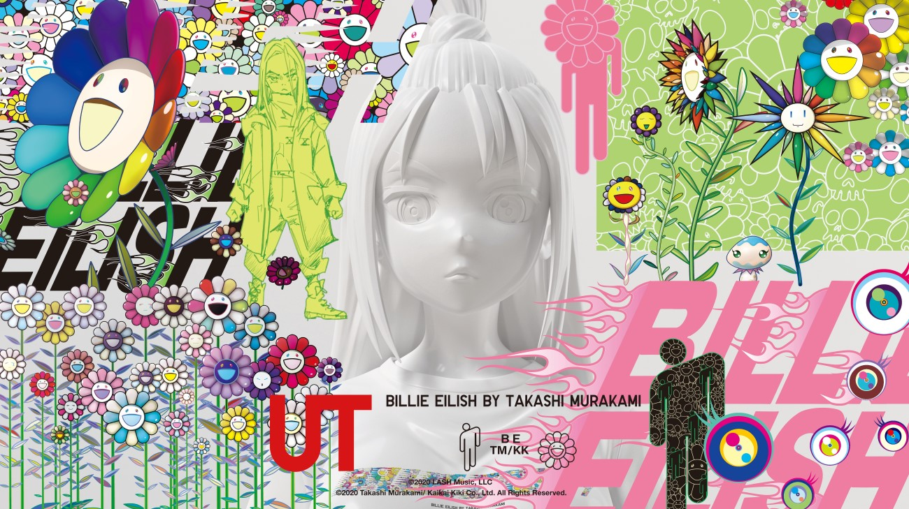UNIQLO x Billie Eilish x Takashi Murakami